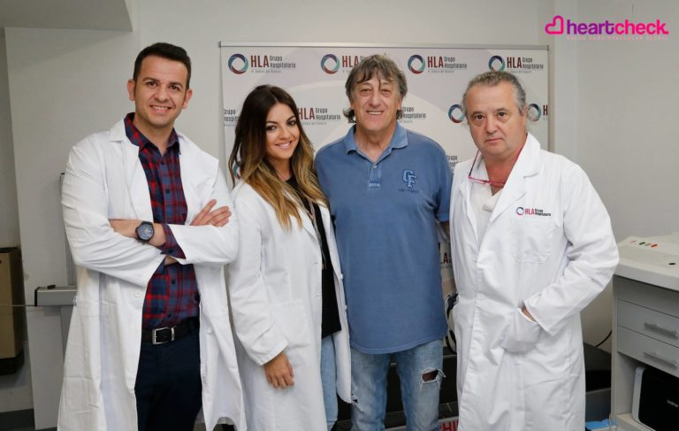 El equipo de Heart Check puso a punto el corazón del entrenador del Albacete Balompié