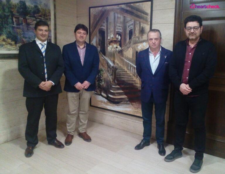 Heart Check busca vías de colaboración con el Ayuntamiento de Albacete