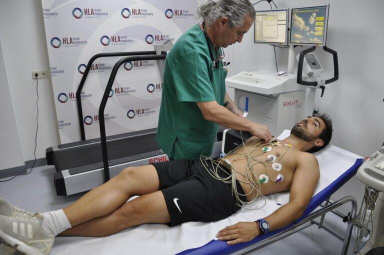 Heart Check realiza pruebas médicas a la plantilla del Fundación Albacete Femenino